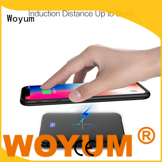 Woyum bamboo charger wholesale for Android
