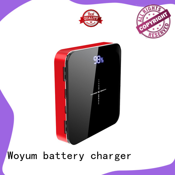 Woyum portable wireless charger with pen container for Android