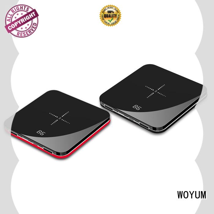 Woyum slim power bank Suppliers for phone