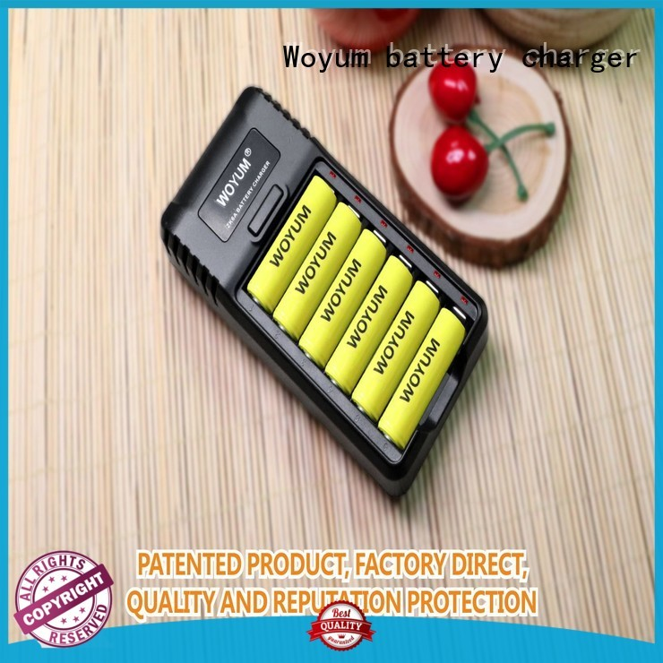 Woyum security smart battery charger supplier for Li-ion
