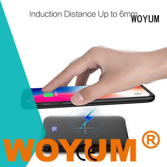Woyum wood charger wholesale for iPhone