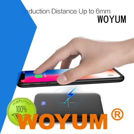 Woyum power bank 10000mah Suppliers for iPhone